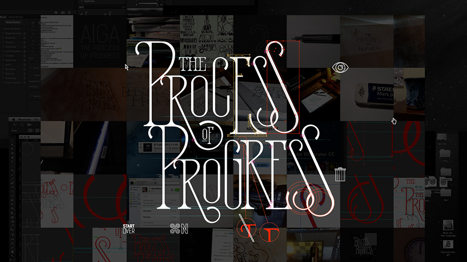 AIGA : Process of Progress : Todd Purgason