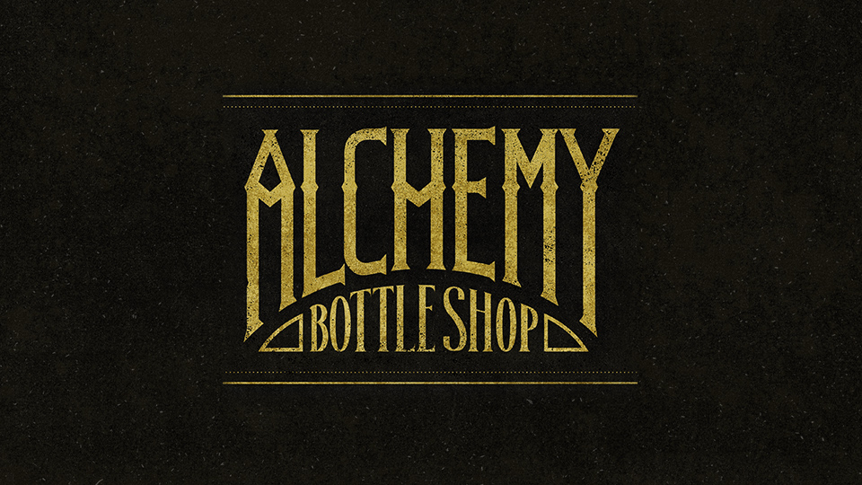 Alchemy Bottle Shop : Logo Design