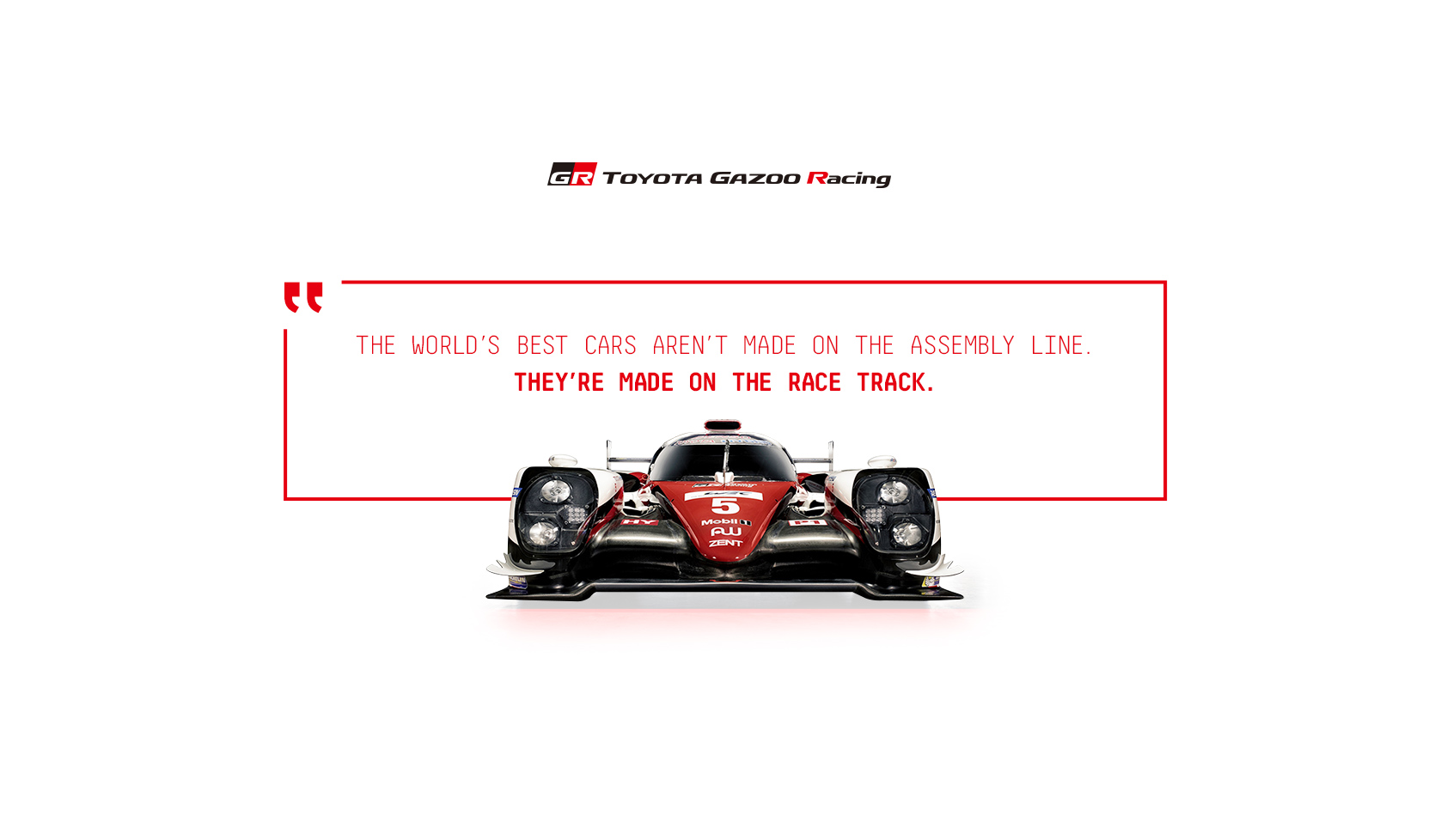 Toyota Gazoo Racing King Design